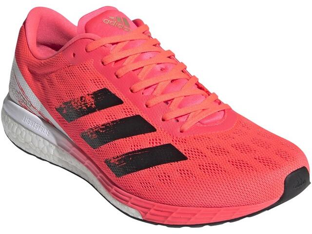 adidas Adizero Boston 9 Zapatillas Hombre, signal pink/core black